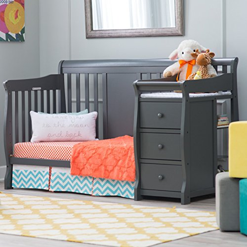 3 Perfect Convertible Baby Cribs With Attached Changing Tables